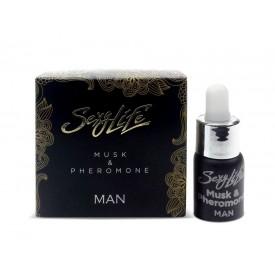 Мужские духи с феромонами Sexy Life Musk&Pheromone - 5 мл.