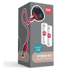 Комплект для зарядки батареек внутри вибратора серии Battery+ HYBRID KIT