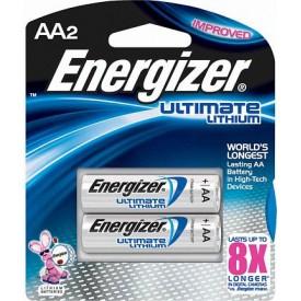 Батарейки Energizer Ultimate Lithium FR6/L91 AA - 2 шт.