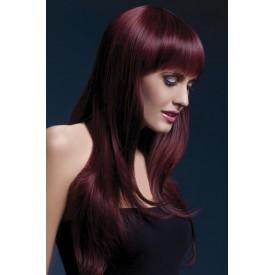 Бордовый парик Sienna